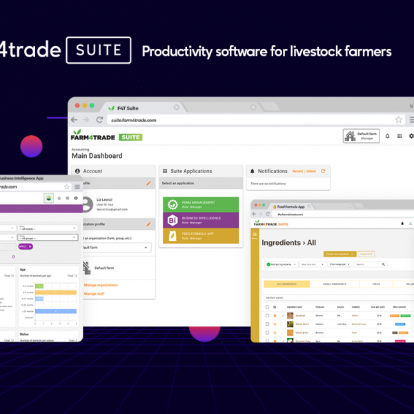 Introducing Farm4Trade Suite, a complete set of apps for livestock management